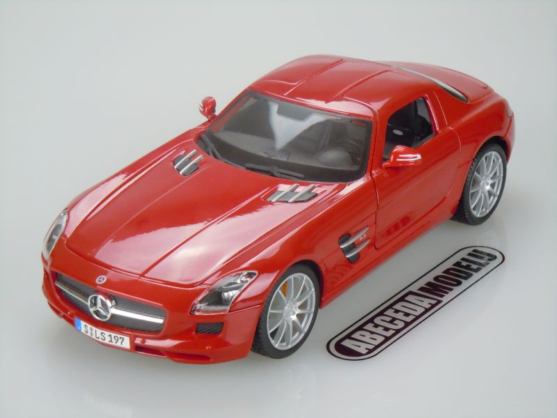 Maisto 1 18 mercedes benz sls amg red code 36196 for Mercedes benz sls amg red
