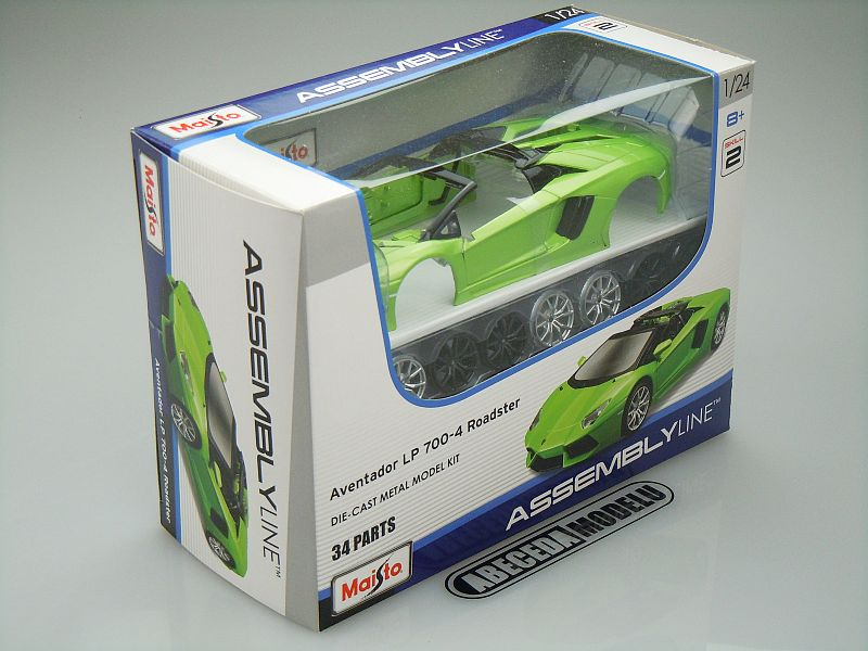 Lamborghini Aventador LP700-4 Roadster Kit