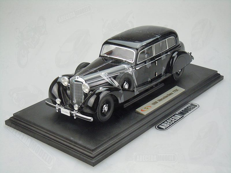 Signature Models 1:18 Mercedes Benz 770K 1938 (black) 18129