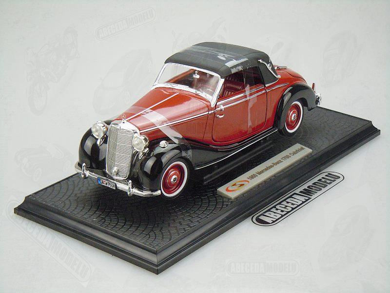 Signature models 1 18 mercedes benz 170s cabriolet 1950 for Mercedes benz model codes