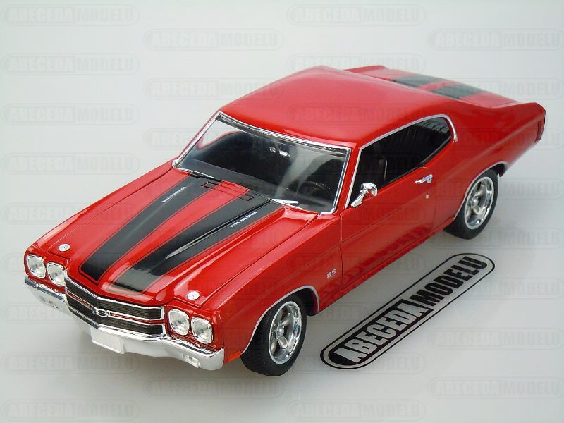 Greenlight 1:18 Chevrolet Chevelle SS 1970 Dom (red) code ...