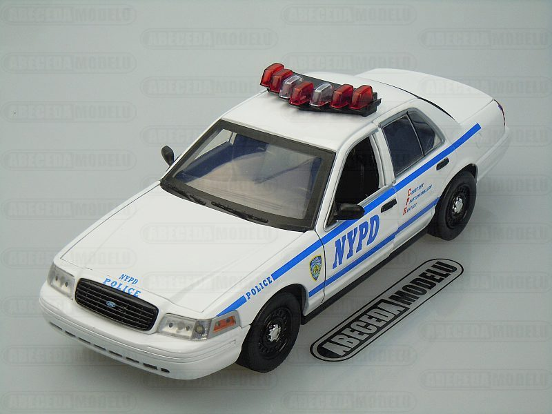 Ford Crown Victoria Interceptor New York City Police Departmend (NYPD)