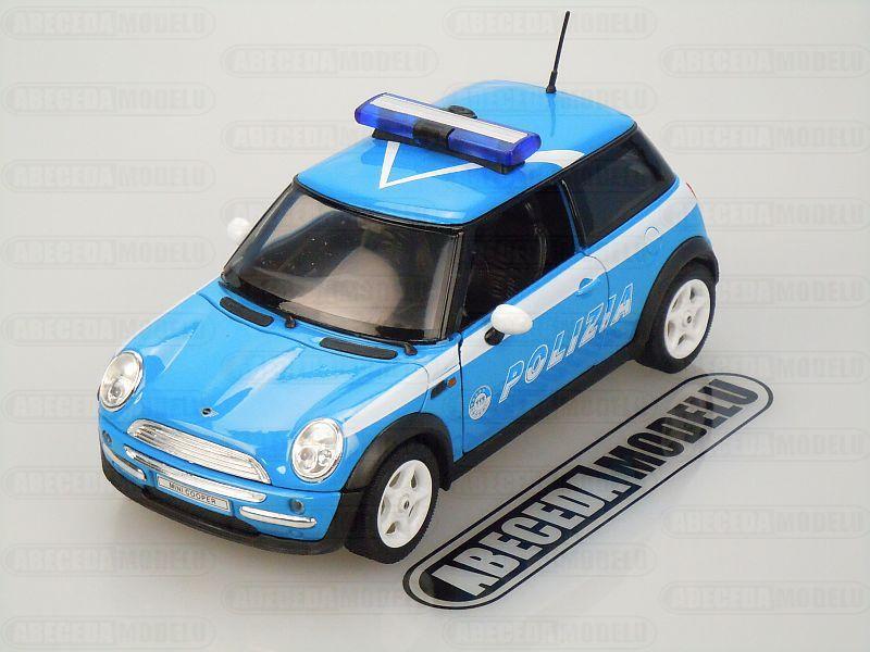 Welly Mini Cooper Polizia 1:24