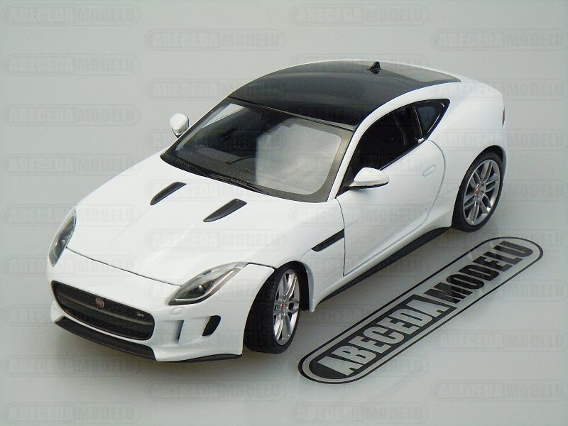Welly Jaguar F-Type Coupe 1:24 bílá