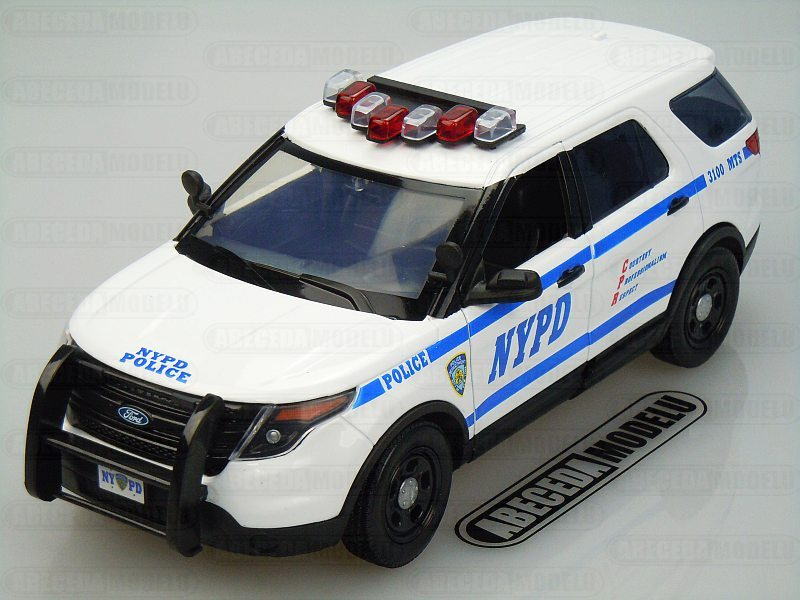Ford Police Interceptor NYPD 2015