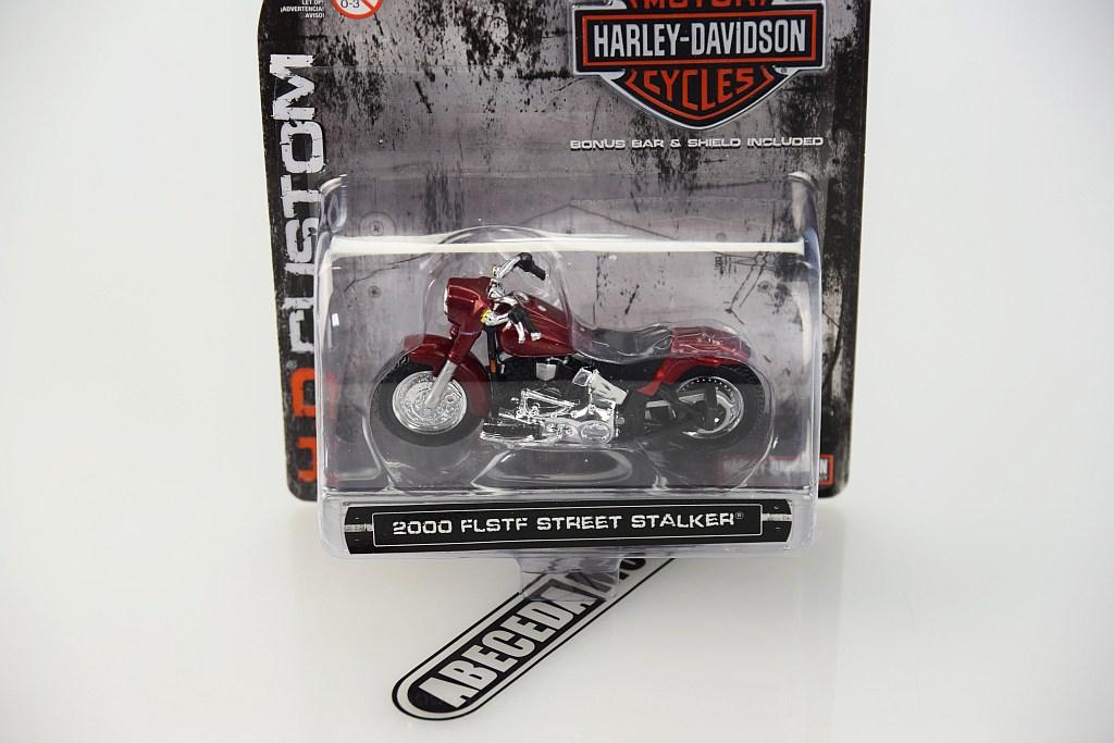 d1a8f65fdc Maisto Harley Davidson 2000 FLSTF Street Stalker 1 24