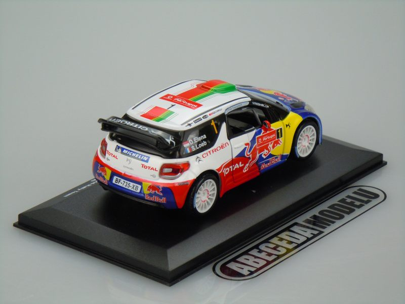 Citroen DS3 Total WRT (Loeb) No.1 2011