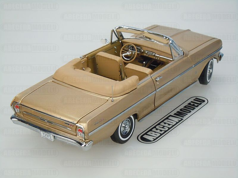 Chevrolet Nova Open Convertible 1963