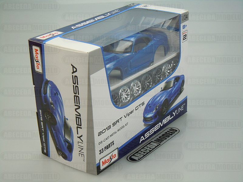 Dodge Viper SRT GTS 2013 Kit