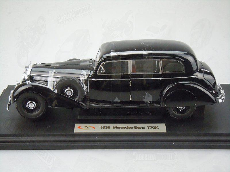 Signature models 1 18 mercedes benz 770k 1938 black code for Mercedes benz model codes