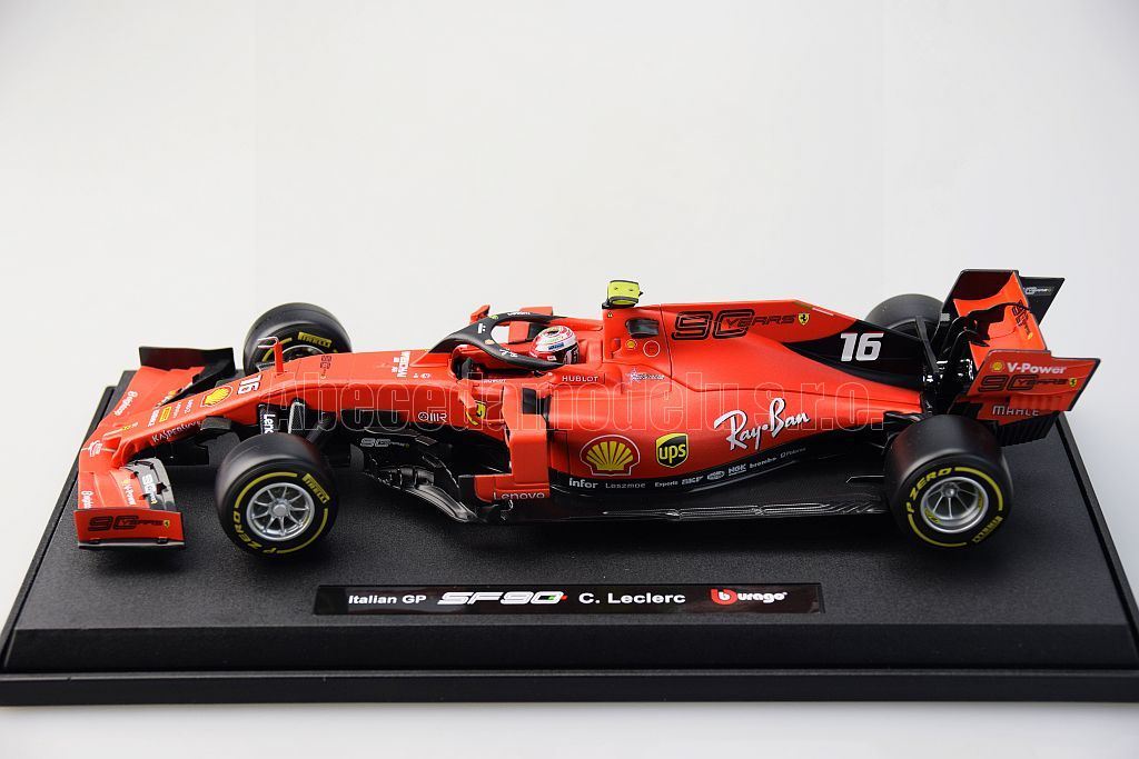Ferrari SF90 No.16 C.Leclerc Winner Italien GP 2019