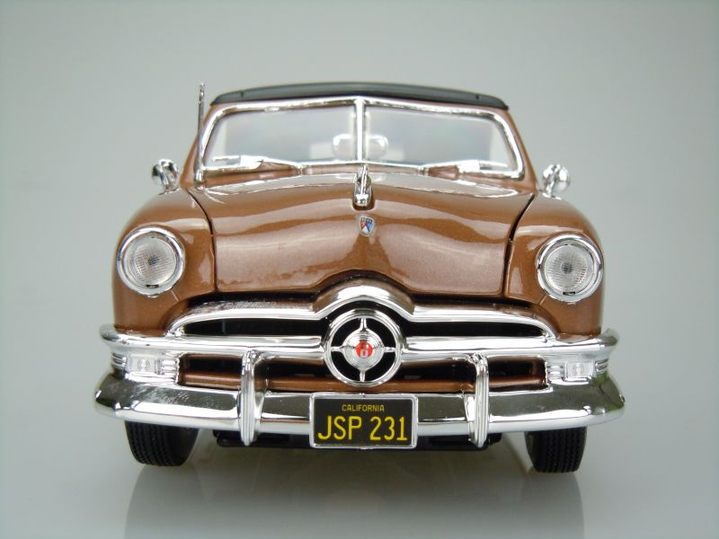 Ford Convertible (Top Up) 1950