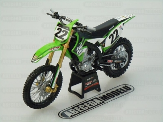 KAWASAKI KX450F 2014 CHAD REED No.22
