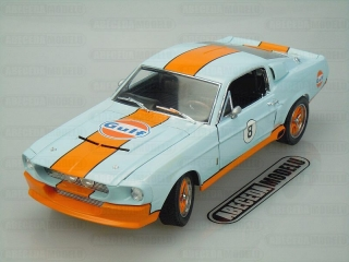 FORD MUSTANG SHELBY GT-500 1967 GULF OIL No.8