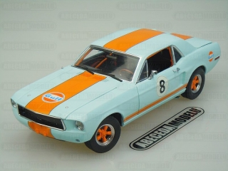 FORD MUSTANG 1967 GULF OIL No.8