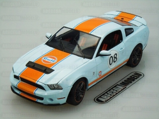 FORD MUSTANG SHELBY GT-500 2012 GULF OIL No.8