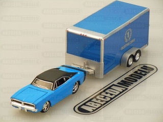 Dodge Charger R/T 1969 + Car Trailer