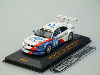 BMW M3 GTR #2 Winner Nürburgring 2005