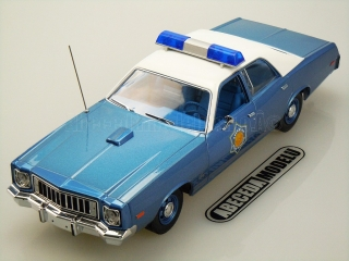 Plymouth Fury 1975 Police Pursuit Arkansas State Police