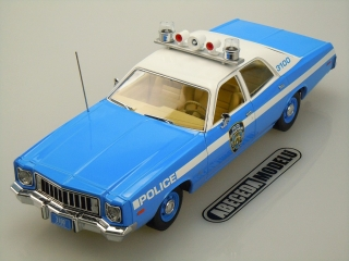 Plymouth Fury 1975 Police Pursuit New York Police Department