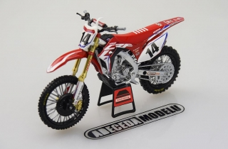 Honda CRF 450R 2017 Cole Seely No.14