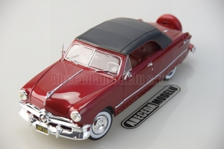 Ford Convertible Top Up 1950