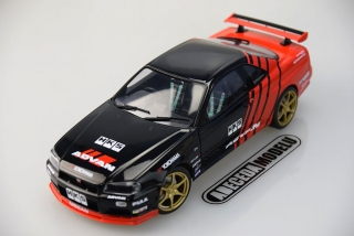 Nissan Skyline GT-R (R34) Advan Drift