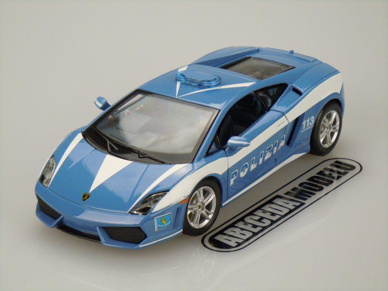 Maisto 1:24 Lamborghini Gallardo LP560-4 Polizia (blue) code Maisto 31299, modely aut