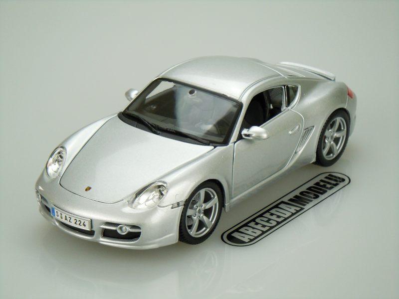 Maisto 1:18 Porsche Cayman S (silver) code Maisto 31122, modely aut