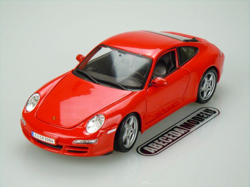Maisto 1:18 Porsche 911 Carrera S (red) code Maisto 31692, modely aut