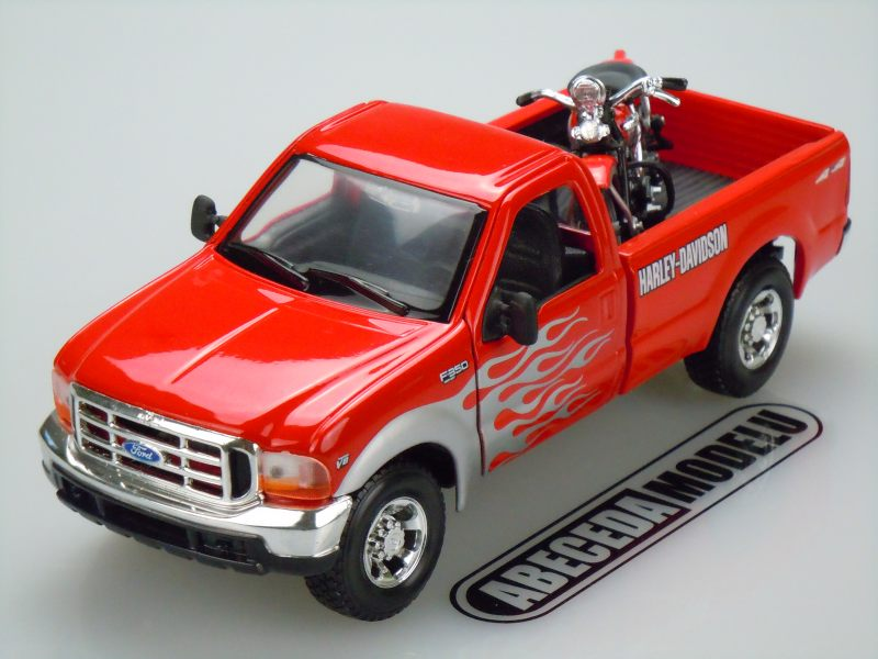 Maisto 1:27 Ford F-350 Super Duty Pickup 1999 H-D (red) code 32160, modely aut
