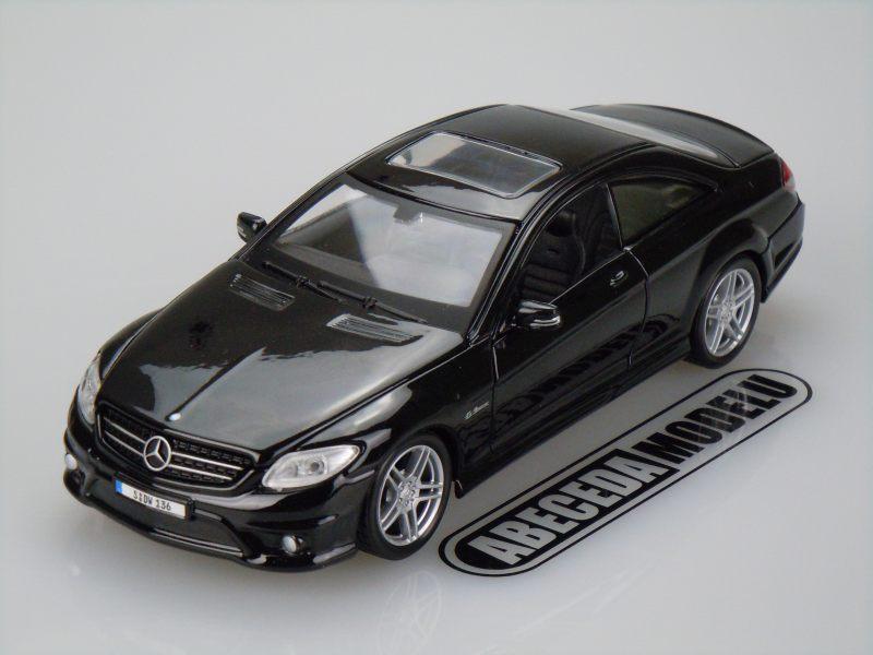Maisto 1:24 Mercedes Benz CL63 AMG (black) code Maisto 31297, modely aut