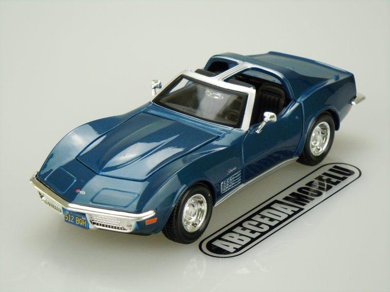 Maisto 1:24 Chevrolet Corvette 1970 (blue) code Maisto 31202, modely aut