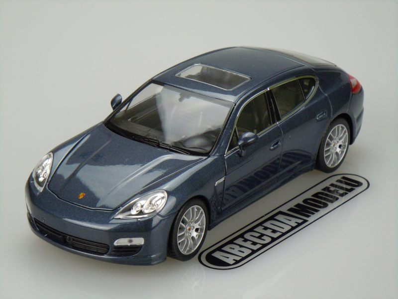 Welly 1:24 Porsche Panamera S (blue) code Welly 24011, modely aut