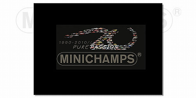 FOTO KNIHA K 20. VÝROČÍ MINICHAMPS (1990- 2010)