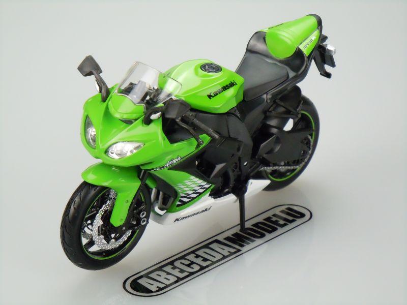 Maisto 1:12 Kawasaki ZX-10R Ninja 2010 (green) code Maisto 31178, model motocyklu