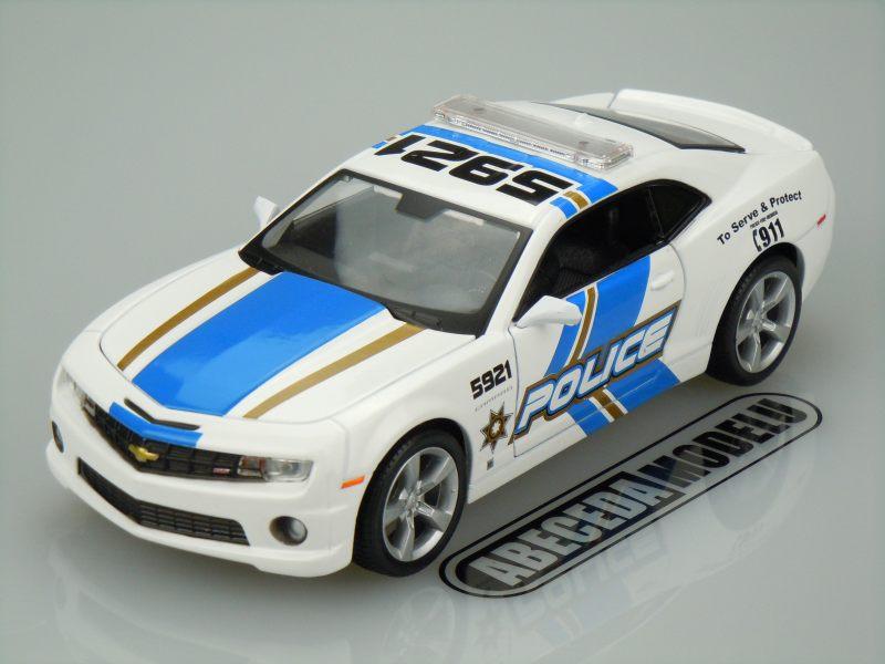 Maisto 1:24 Chevrolet Camaro SS RS 2010 (white) code Maisto 31208, modely aut