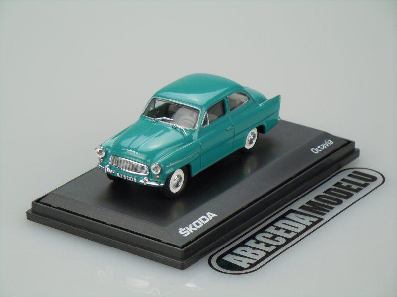 Abrex 1:43 Škoda Octavia 1963 (blue green) code Abrex 143ABS-704LK, modely aut