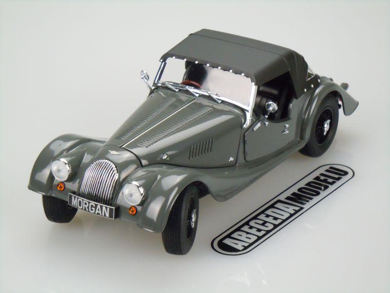 Kyosho 1:18 Morgan 4/4 Sport (grey) code Kyosho 08115, modely aut