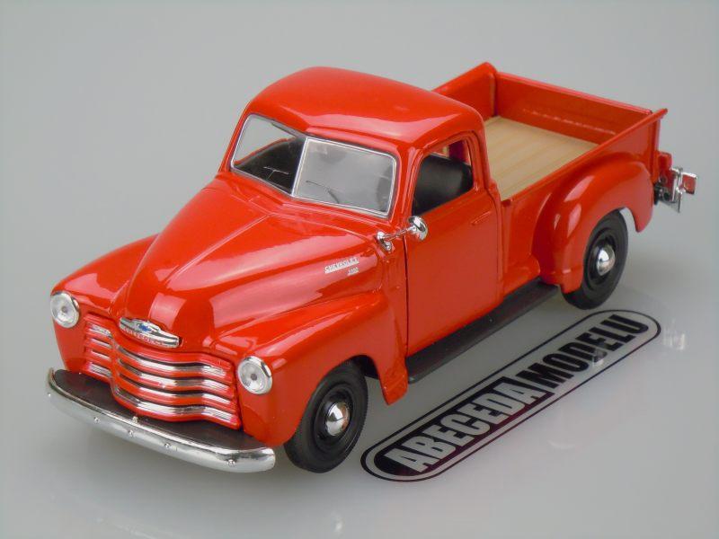Maisto 1:24 Chevrolet 3100 PickUp 1950 (red) code Maisto 31952, modely aut