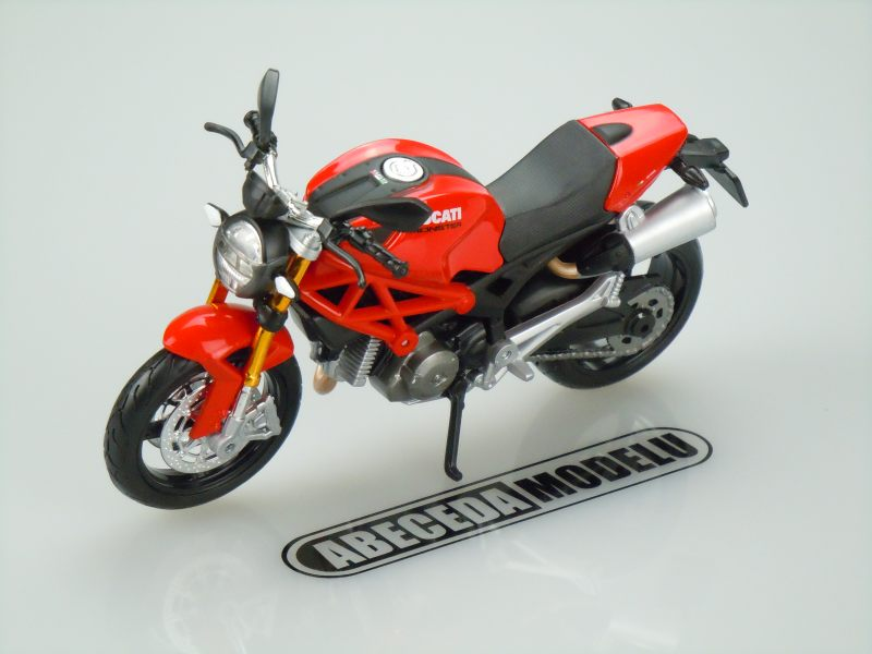 Maisto 1:12 Ducati Monster 696 (red) code Maisto 31189, model motocyklu