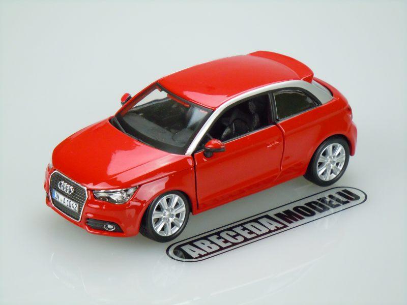 Bburago 1:24 Audi A1 (red) code Bburago 21058, modely aut