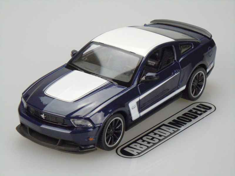 Maisto 1:24 Ford Mustang Boss 302 (blue) code Maisto 31269, modely aut
