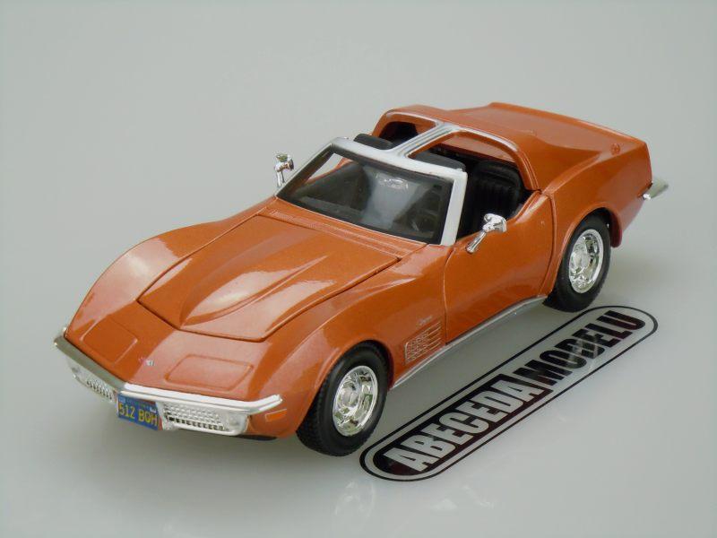 Maisto 1:24 Chevrolet Corvette 1970 (bronze) code Maisto 31202, modely aut