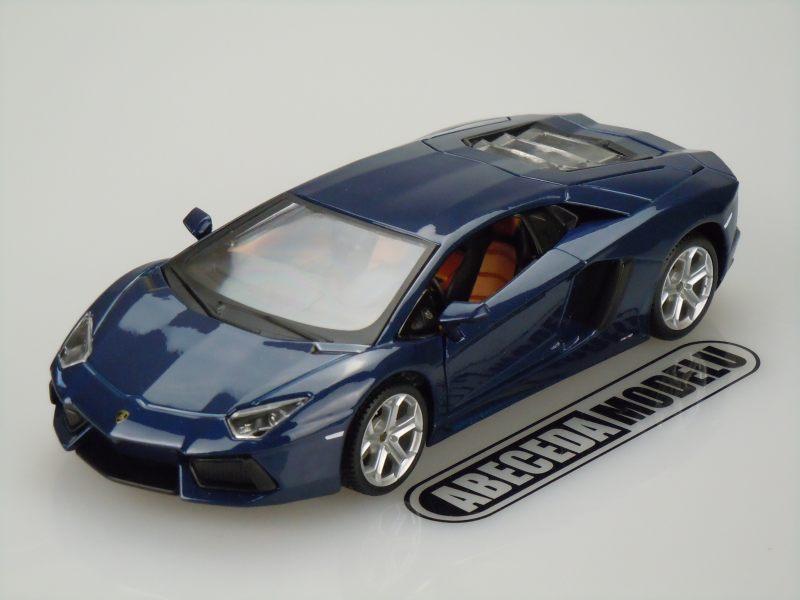 Maisto 1:24 Lamborghini Aventador LP700-4 (blue) code Maisto 31210, modely aut