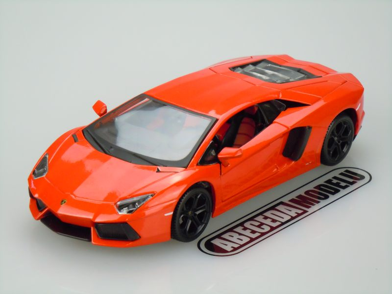 Maisto 1:24 Lamborghini Aventador LP700-4 (orange) code Maisto 31210, modely aut