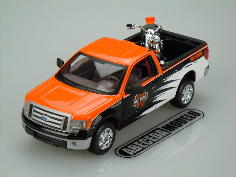 Maisto 1:27 Ford F-150 STX H-D (black/orange) code Maisto 32173, modely aut