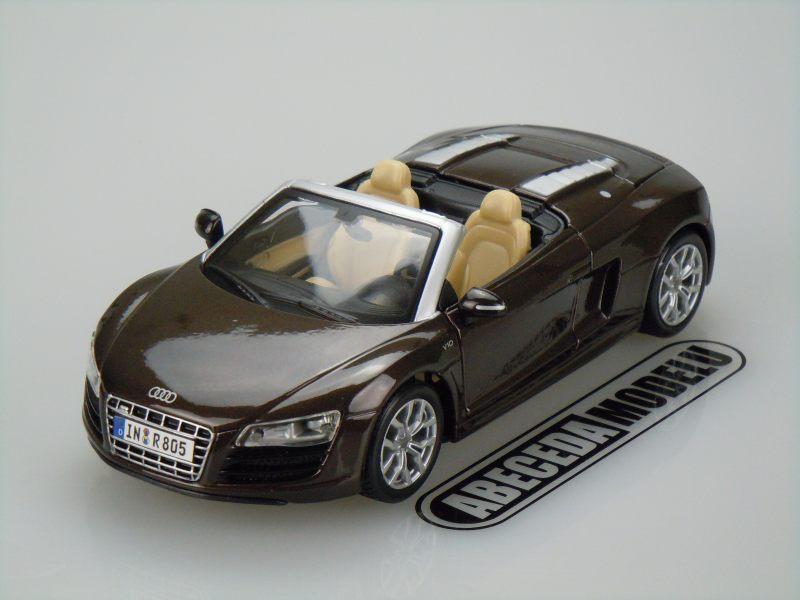 Maisto 1:24 Audi R8 Spyder (brown) code Maisto 31204, modely aut