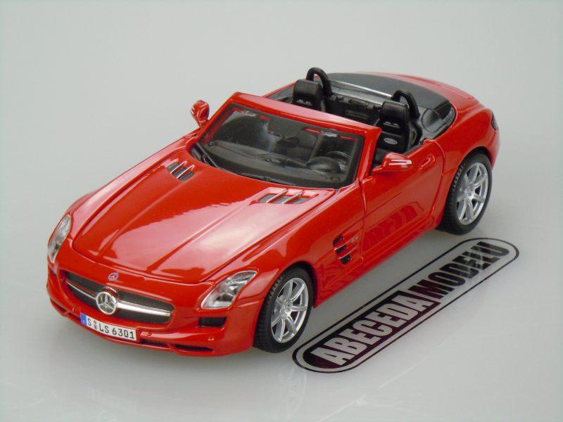 Maisto 1:24 Mercedes Benz SLS AMG Roadster (red) code Maisto 31272, modely aut
