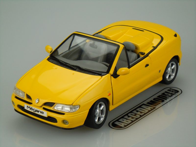 Anson 1:18 Renault Mégane 1997 (yellow) code Anson 30342, modely aut
